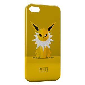 Coque iPhone 5/5S/SE Jolteon Pokemon Simple Art