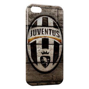 Coque iPhone 5/5S/SE Juventus Football Club Bois
