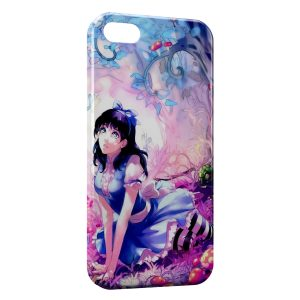 Coque iPhone 5/5S/SE Kawaii Girl 2