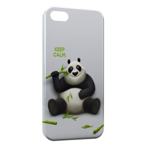 Coque iPhone 5/5S/SE Keep Calm Panda