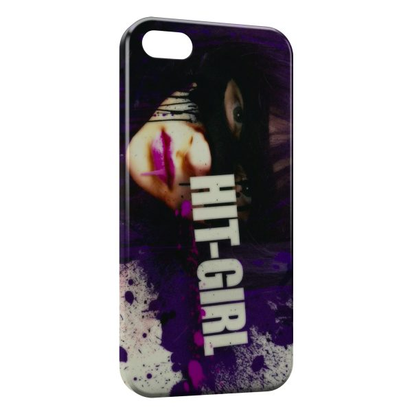 Coque iPhone 5/5S/SE Kickass Hit Girl