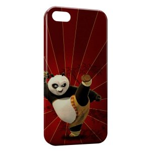 Coque iPhone 5/5S/SE Kung-Fu Panda Red 6