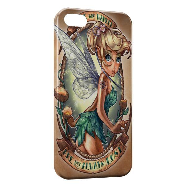 Coque iPhone 5/5S/SE La Fée Clochette Punk