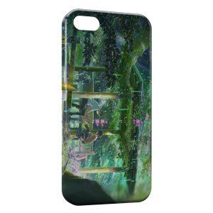 Coque iPhone 5/5S/SE La Tour Au-delà Des Nuages