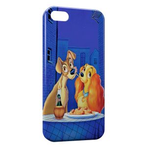 Coque iPhone 5/5S/SE La belle et le Clochard