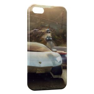 Coque iPhone 5/5S/SE Lamborghini Vintage Art