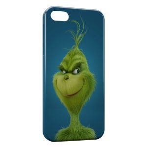 Coque iPhone 5/5S/SE Le Grinch Animation Art