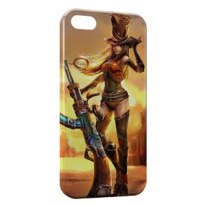 Coque iPhone 5/5S/SE League Of Legends Caitlyn