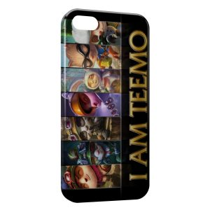 Coque iPhone 5/5S/SE League Of Legends Teemo 1