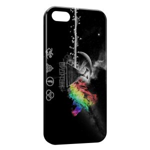 Coque iPhone 5/5S/SE Led Zeppelin Colorful