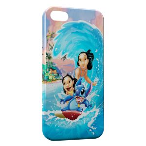 Coque iPhone 5/5S/SE Lilo & Stitch 2