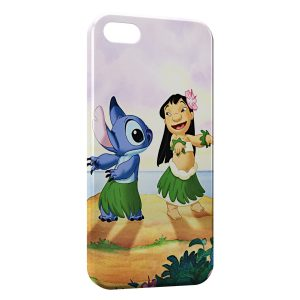 Coque iPhone 5/5S/SE Lilo & Stitch 3