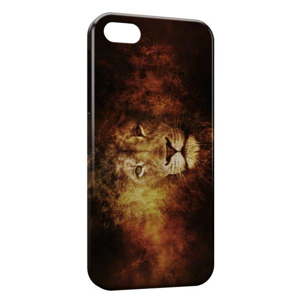 Coque iPhone 5/5S/SE Lion 2