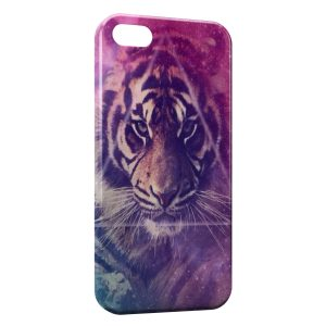 Coque iPhone 5/5S/SE Lion Beautiful