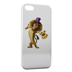 Coque iPhone 5/5S/SE Lion Madagascar