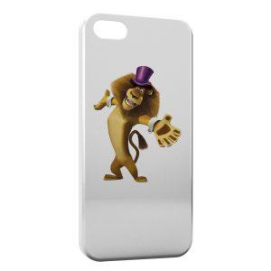 Coque iPhone 5/5S/SE Lion Madagascar