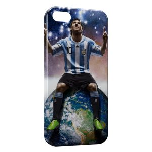 Coque iPhone 5/5S/SE Lionel Messi Football 11