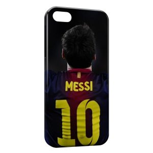 Coque iPhone 5/5S/SE Lionel Messi Football 13