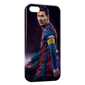 Coque iPhone 5/5S/SE Lionel Messi Football