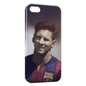 Coque iPhone 5/5S/SE Lionel Messi Football 6
