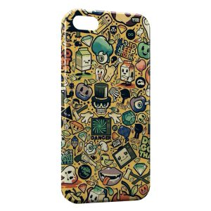 Coque iPhone 5/5S/SE Little Monsters Art Design