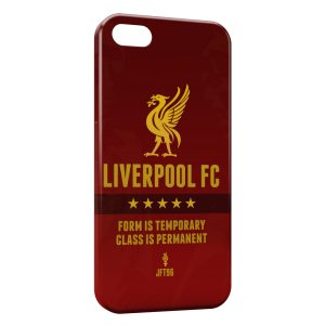 Coque iPhone 5/5S/SE Liverpool FC Football 4