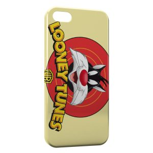 Coque iPhone 5/5S/SE Looney Tunes Gros Minet
