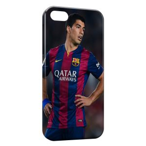 Coque iPhone 5/5S/SE Luis Suarez Barcelone Football