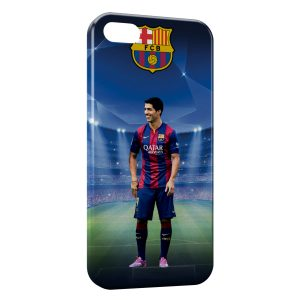 Coque iPhone 5/5S/SE Luis Suarez FC Barcelone 2