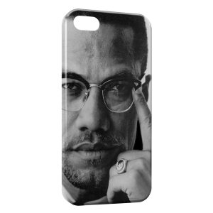 Coque iPhone 5/5S/SE Malcolm X