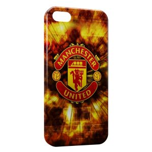 Coque iPhone 5/5S/SE Manchester United Football 2