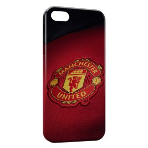 Coque iPhone 5/5S/SE Manchester United Football 3