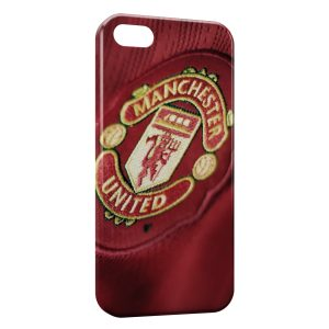 Coque iPhone 5/5S/SE Manchester United Football UK 3