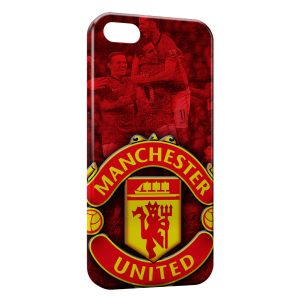 Coque iPhone 5/5S/SE Manchester United Football UK 4