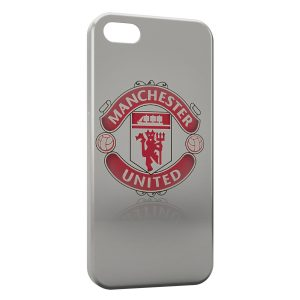 Coque iPhone 5/5S/SE Manchester United Football UK 5