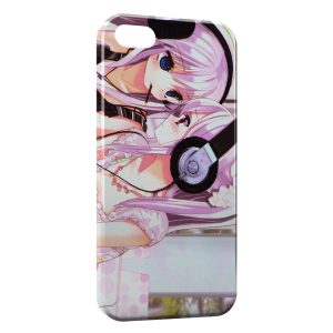 Coque iPhone 5/5S/SE Manga Casque Music