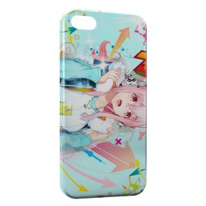 Coque iPhone 5/5S/SE Manga Music