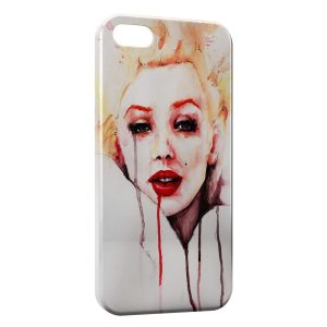 Coque iPhone 5/5S/SE Marilyn 2