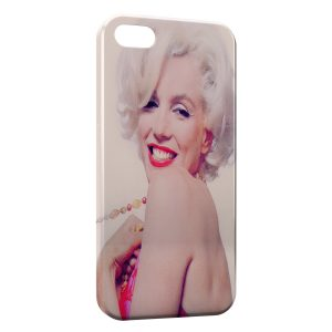 Coque iPhone 5/5S/SE Marilyn