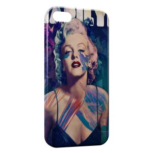 Coque iPhone 5/5S/SE Marilyn 4