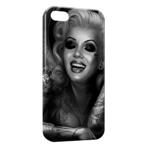 Coque iPhone 5/5S/SE Marilyn 5