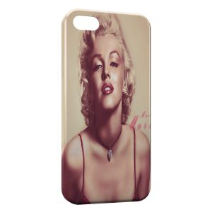 Coque iPhone 5/5S/SE Marilyn 6