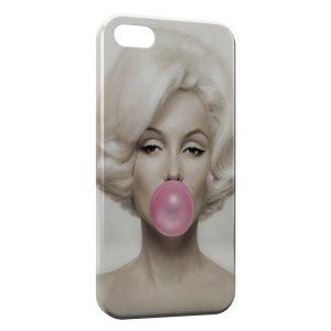 Coque iPhone 5/5S/SE Marilyn Bubble Gum