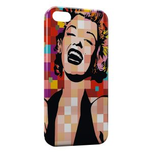 Coque iPhone 5/5S/SE Marilyn PopArt