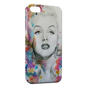 Coque iPhone 5/5S/SE Marilyn color iPhone 5