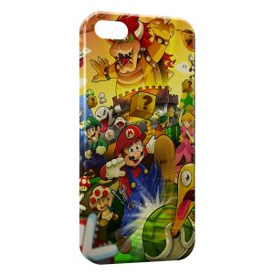 Coque iPhone 5/5S/SE Mario 4
