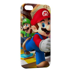 Coque iPhone 5/5S/SE Mario Game