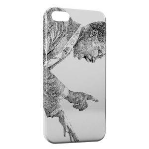 Coque iPhone 5/5S/SE Martin Luther King