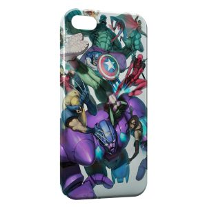 Coque iPhone 5/5S/SE Marvel Comics Art