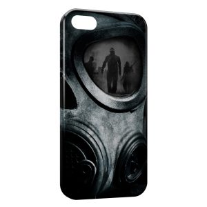Coque iPhone 5/5S/SE Masque a Gaz